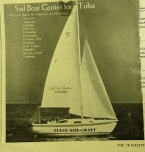 Tulsa Sail-Craft ad in The Tulsalite